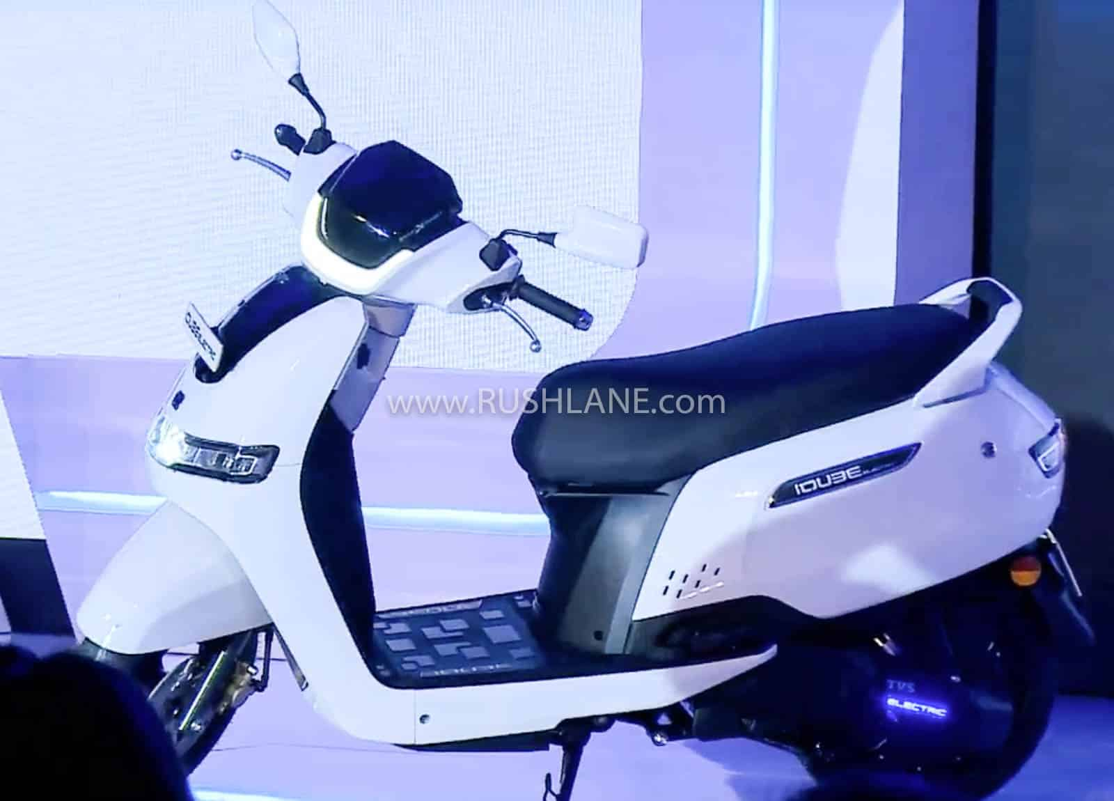 TVS iQube electric scooter launch