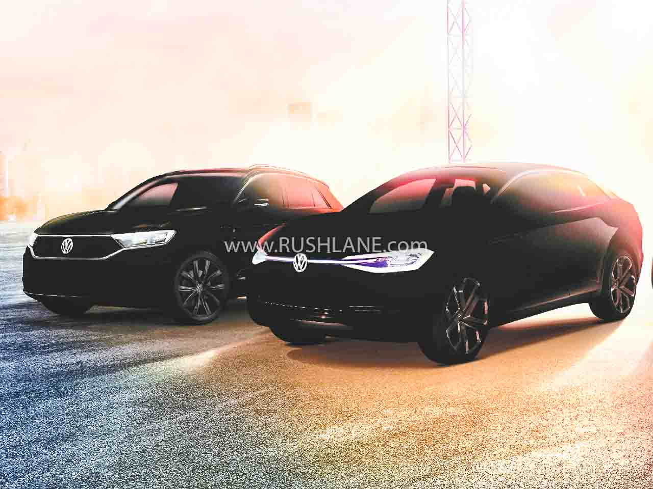 Volkswagen India teaser 2020 Auto Expo
