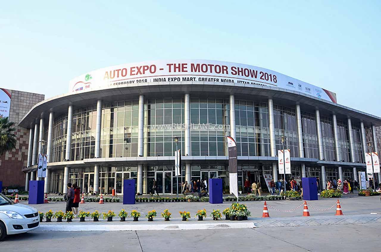 Auto Expo 2020 venue