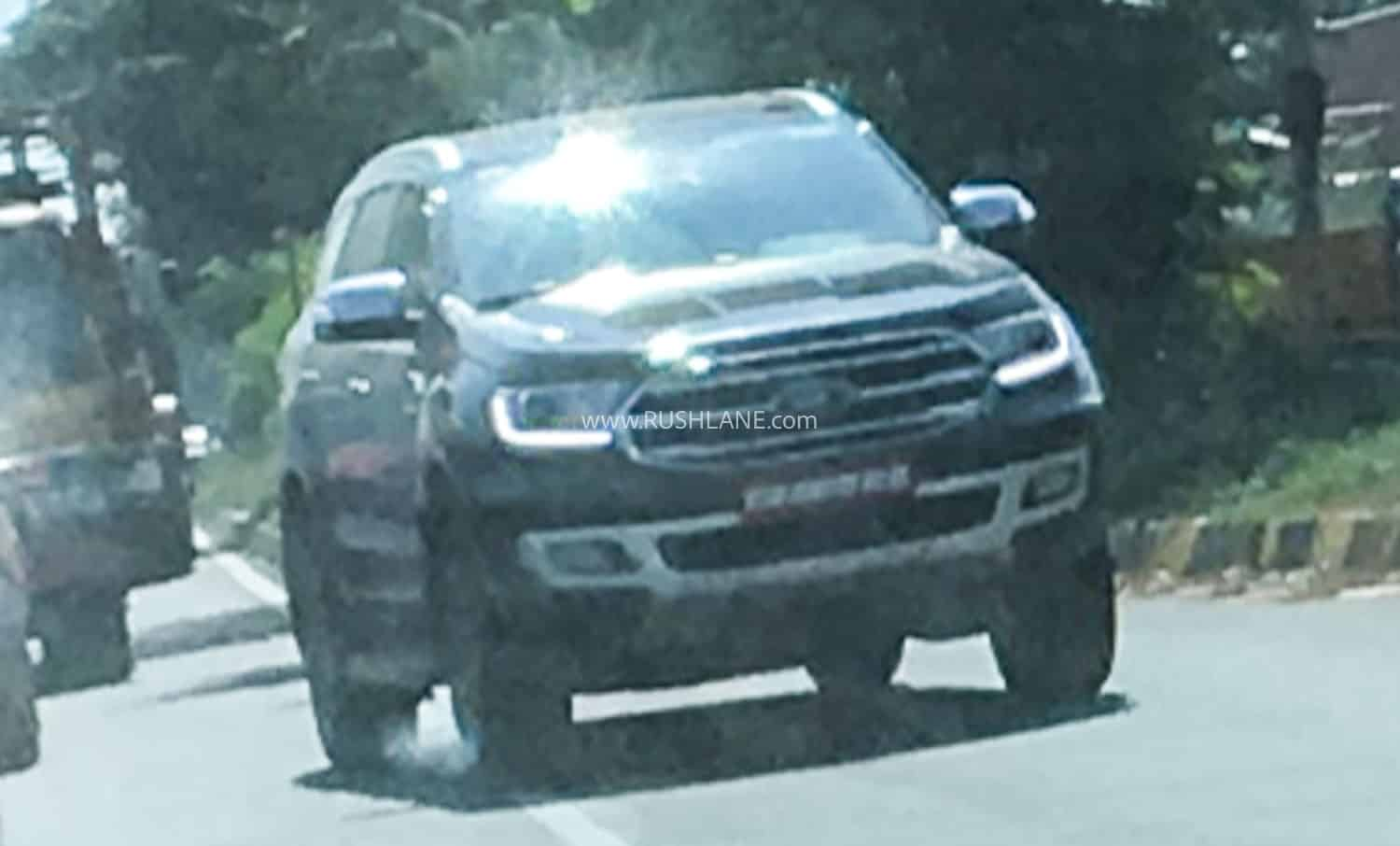 2020 Ford Endeavour BS6