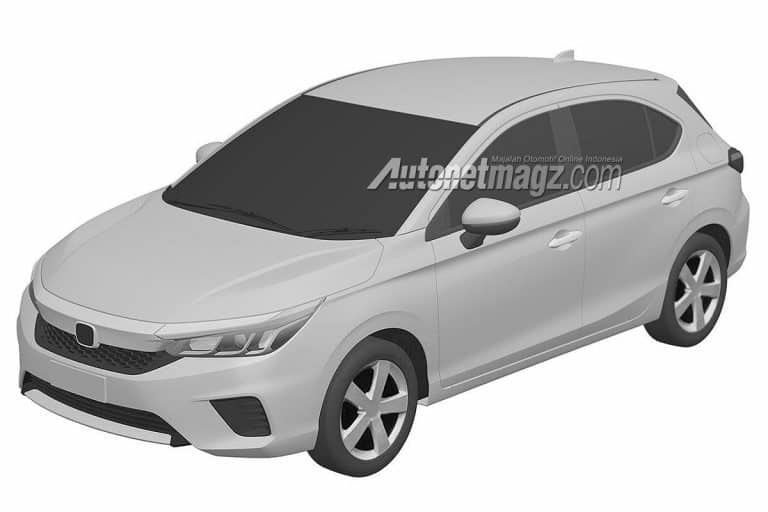 2020 Honda hatchback based on City