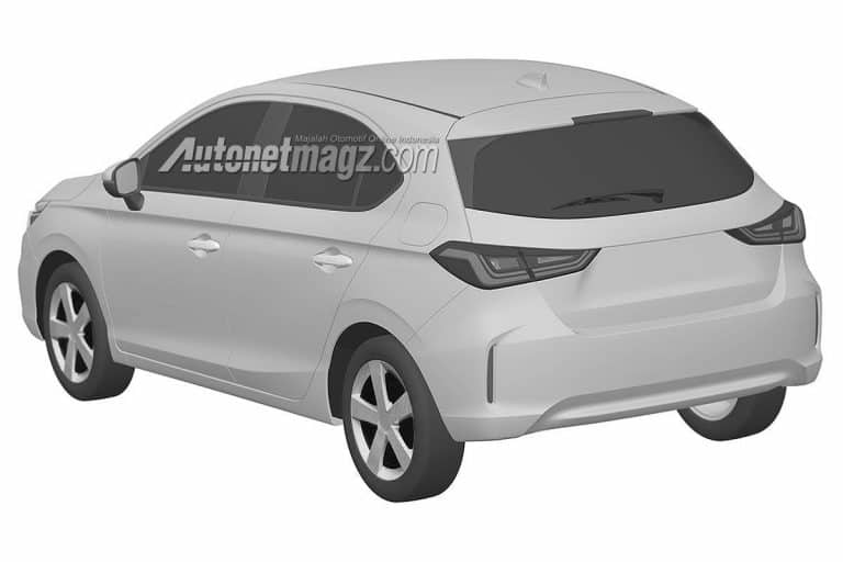2020 Honda hatchback based on City
