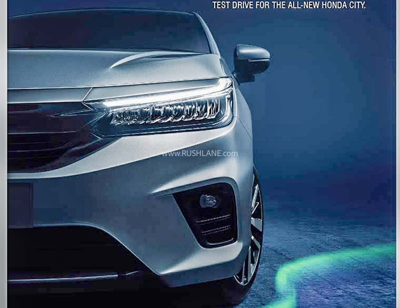 2020 Honda City front bumper