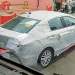 2020 Honda City on test in India