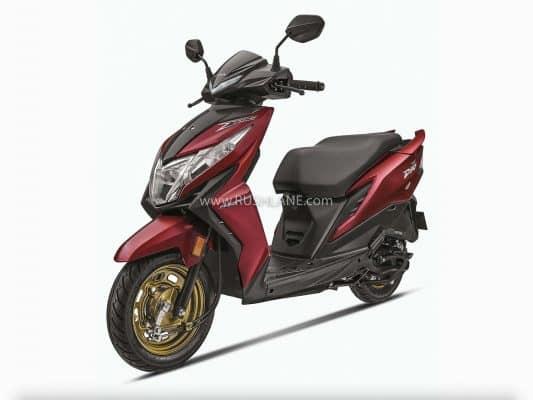 2020 Honda Dio BS6