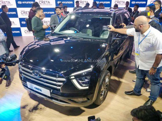 2020 Hyundai Creta at Auto Expo