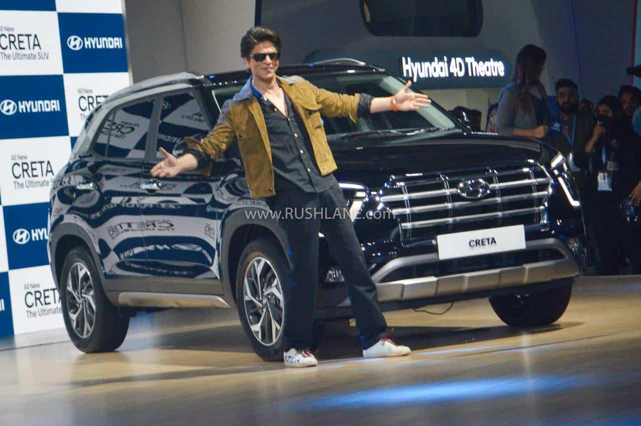 2020 Hyundai Creta with Shah Rukh Khan