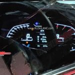 2020 Hyundai i20 digital instrument cluster