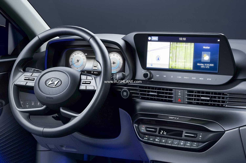 2020 Hyundai i20 interiors