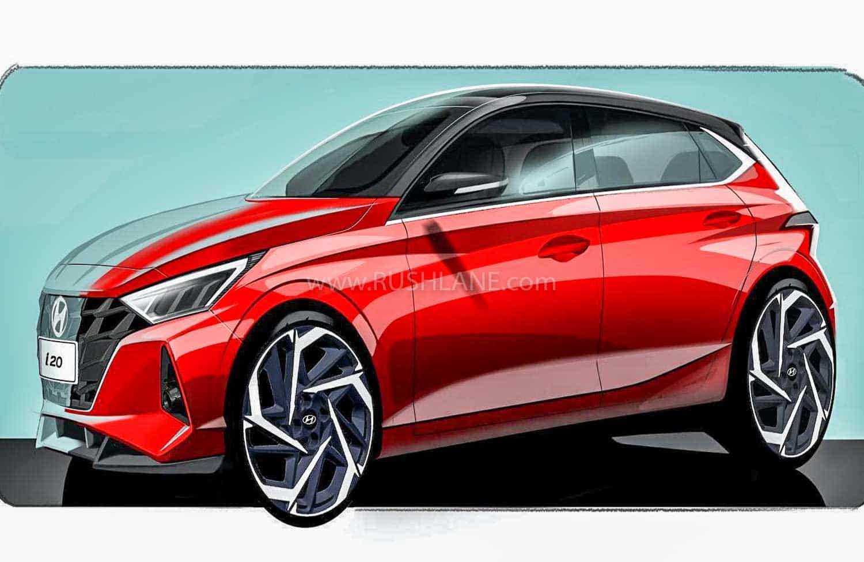 2020 Hyundai i20 front teaser