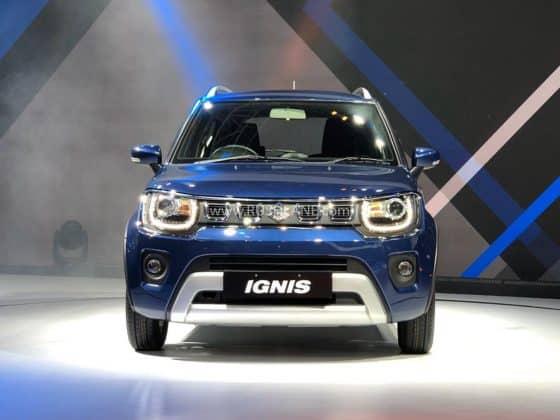 Maruti Ignis facelift 2020 Auto Expo
