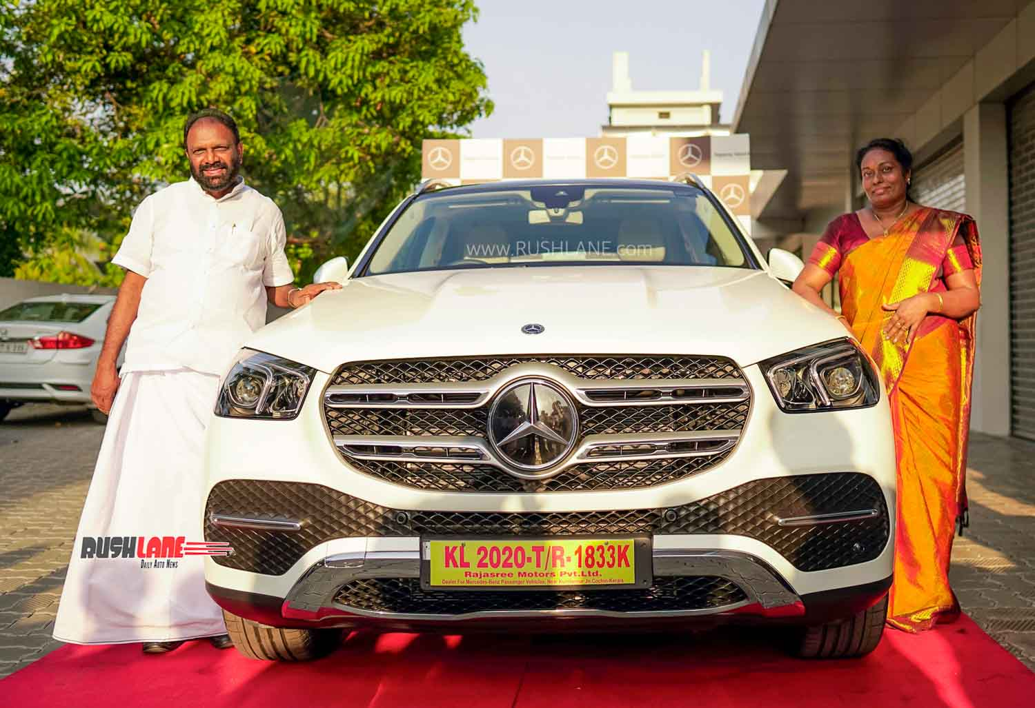 First owners of Mercedes GLE SUV in India