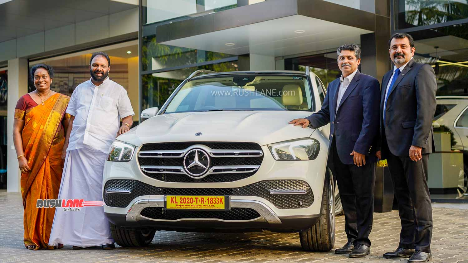 2020 Mercedes GLE deliveries start in India.