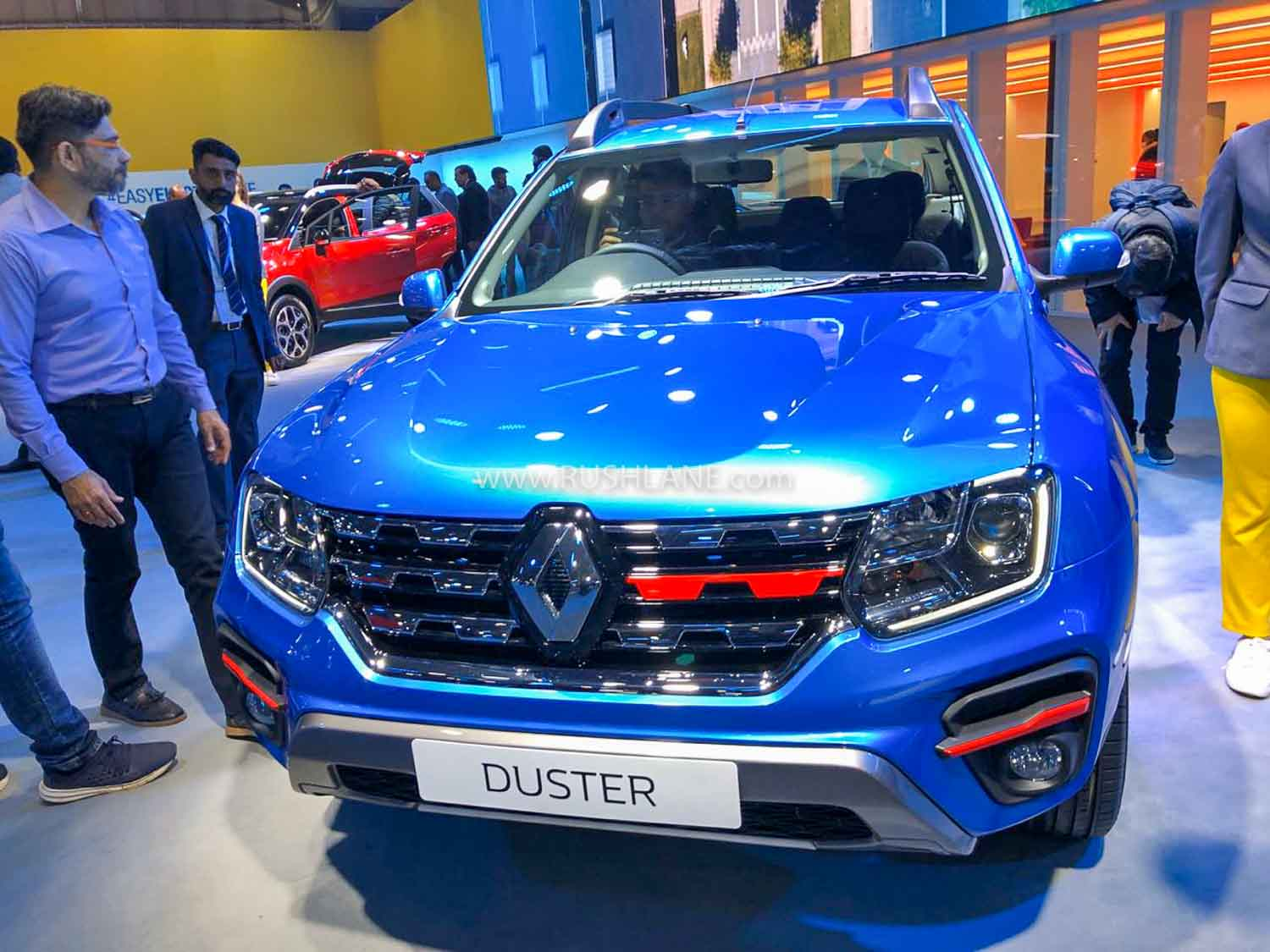 2020 Renault Duster BS6 AMT 1.3L Turbo at Auto Expo