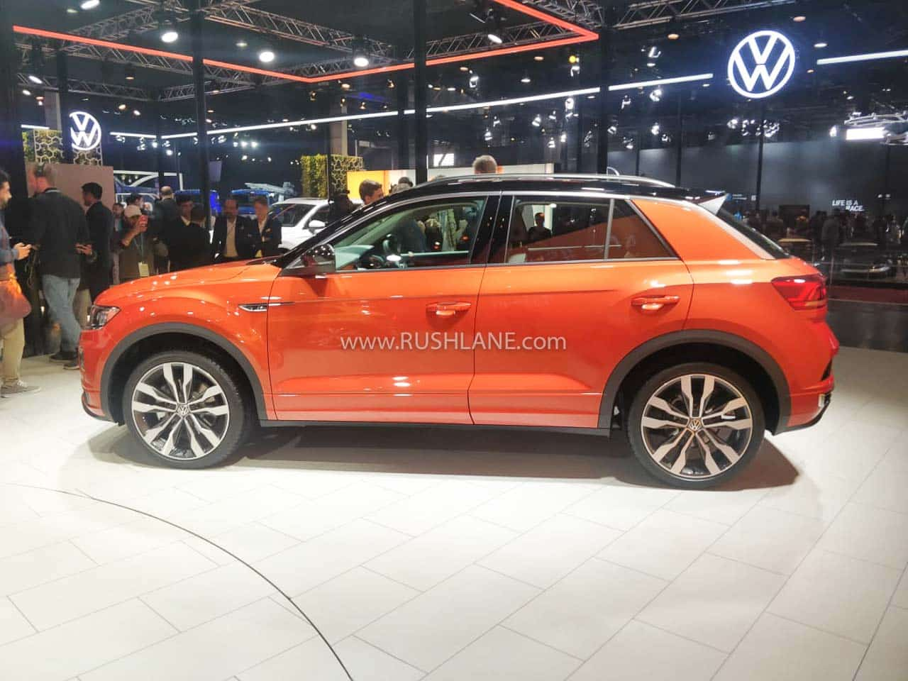 VW T-ROC at Auto Expo 2020