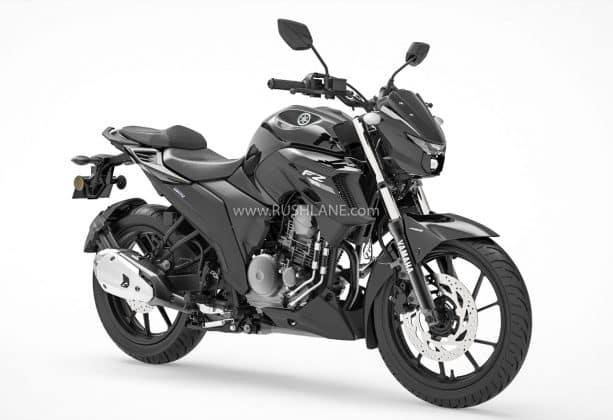 Yamaha FZ 25 BS6 Metallic Black