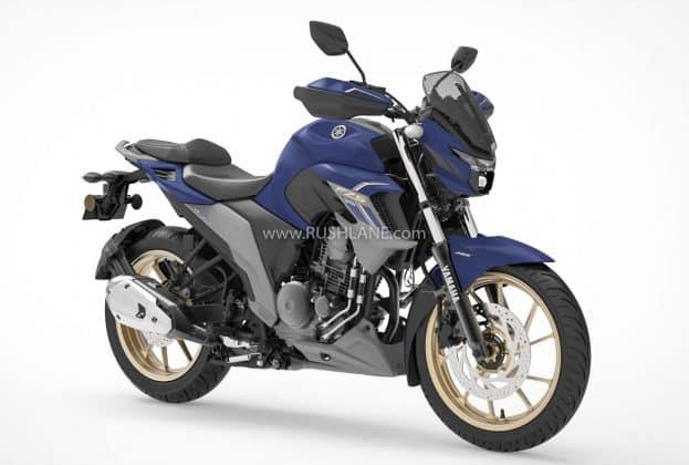 Yamaha FZS 25 BS6 Dark Matte Blue