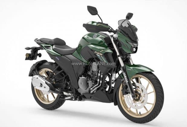 Yamaha FZS 25 BS6 Dark Cyan