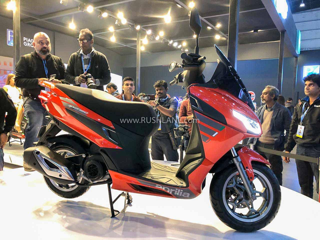 Aprilia SXR 160 - Auto Expo 2020