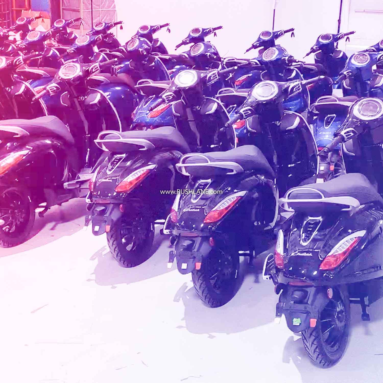 Bajaj Chetak Electric Deliveries