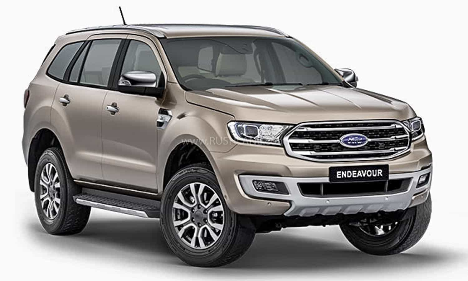 BS6 Ford Endeavour facelift