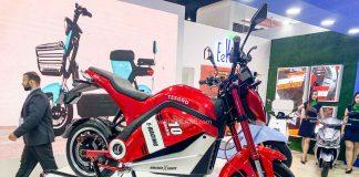 Eeve Tesoro electric motorcycle
