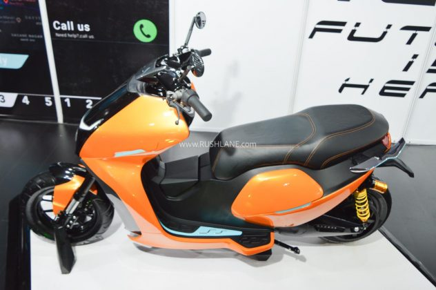 Everve EF1 electric scooter