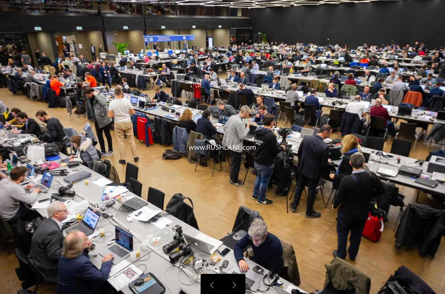 Media room at the GIMS 2019