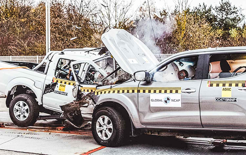 Car to Car crash test.