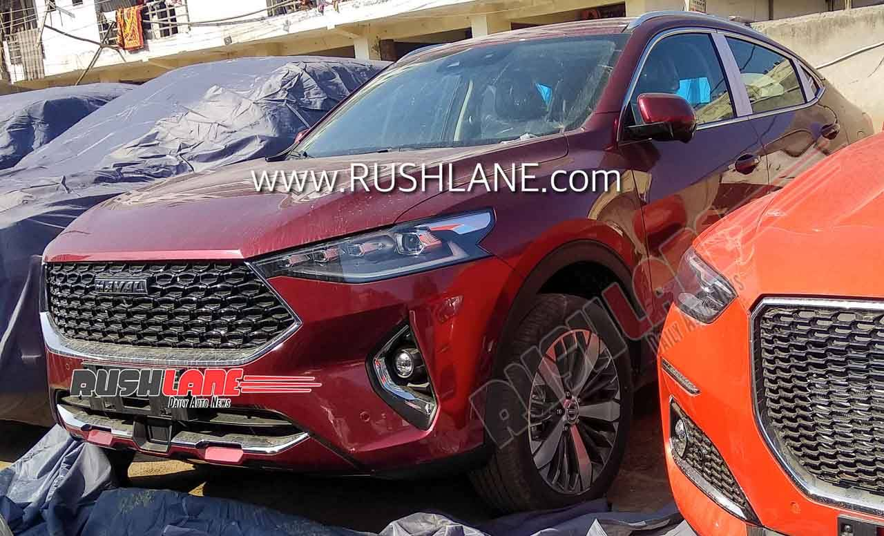 Haval F57SUV spied in India