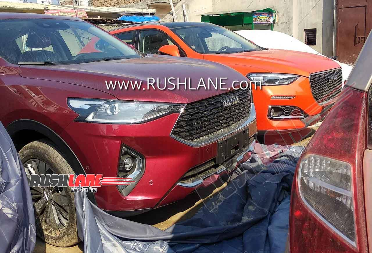 Great Wall Motors Haval F7 and F5 SUV