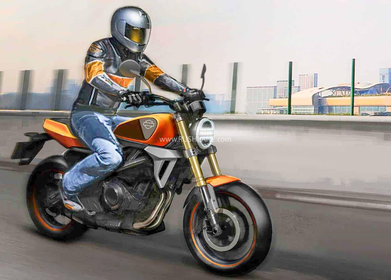Harley 338 small motorcycle