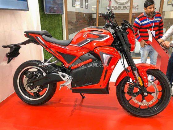 Hero AE 47 Electric Motorcycle