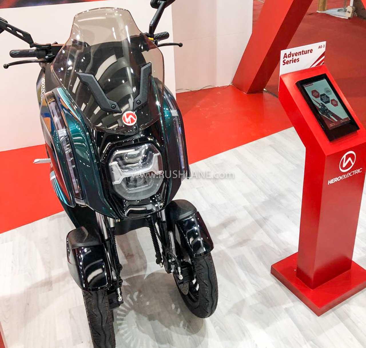 Hero Electric AE-3 Trike - Auto Expo 2020