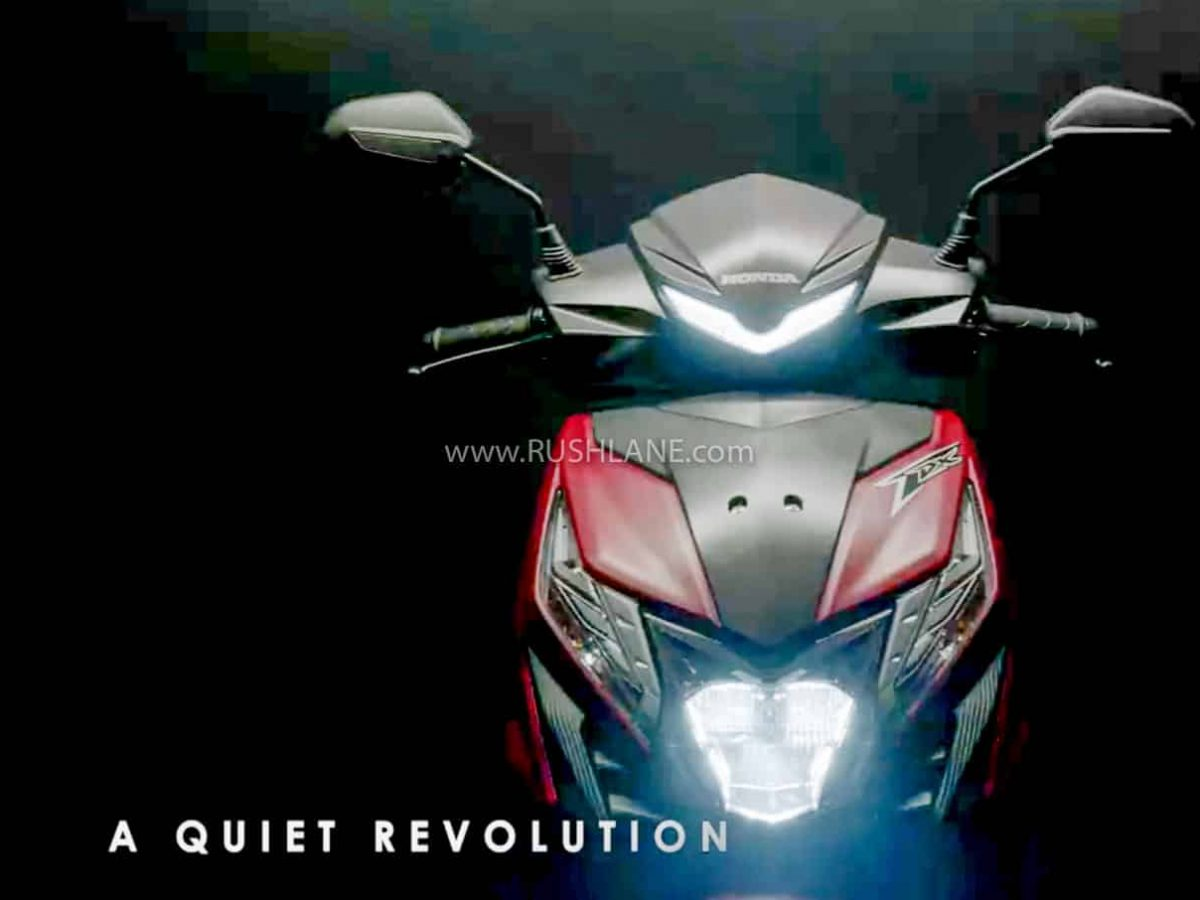 Honda Dio Bs6 Scooter Teased Gets Activa 6g Bs6 Engine