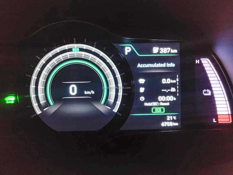 Hyundai Kona Electric fully charged