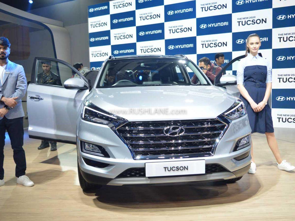 Bs6 Hyundai Tucson Facelift Makes India Debut 2020 Auto Expo