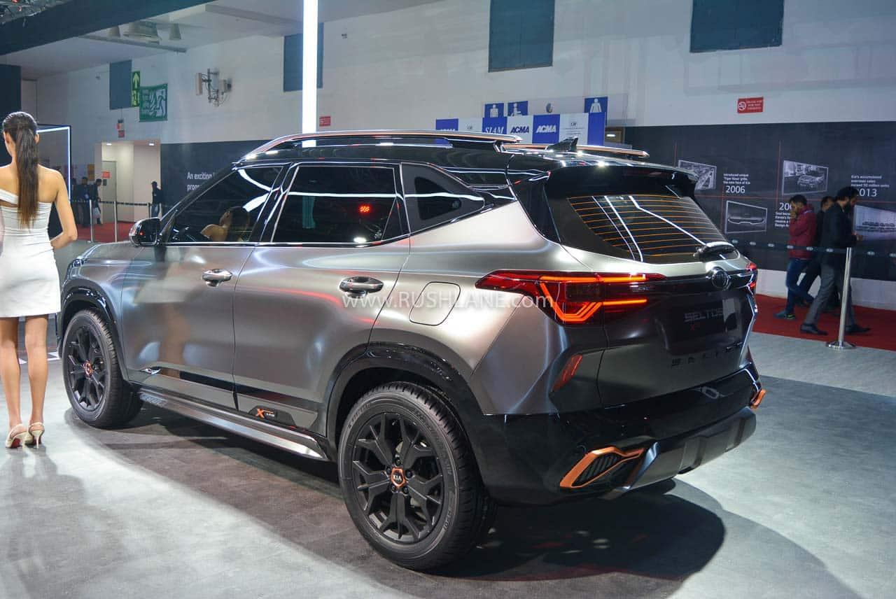 Performance Auto Sales >> Kia Seltos X-Line concept debuts at Auto Expo 2020
