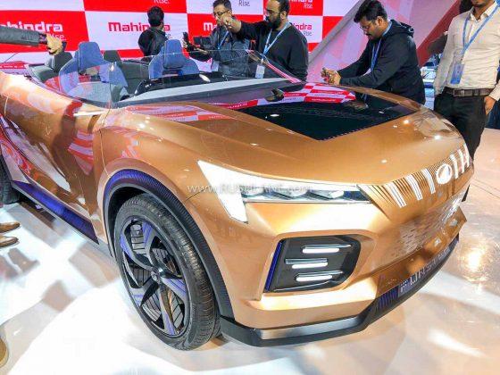 Mahindra Funster topless XUV500 Concept