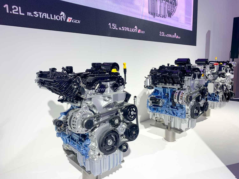 Mahindra mStallion petrol engine range