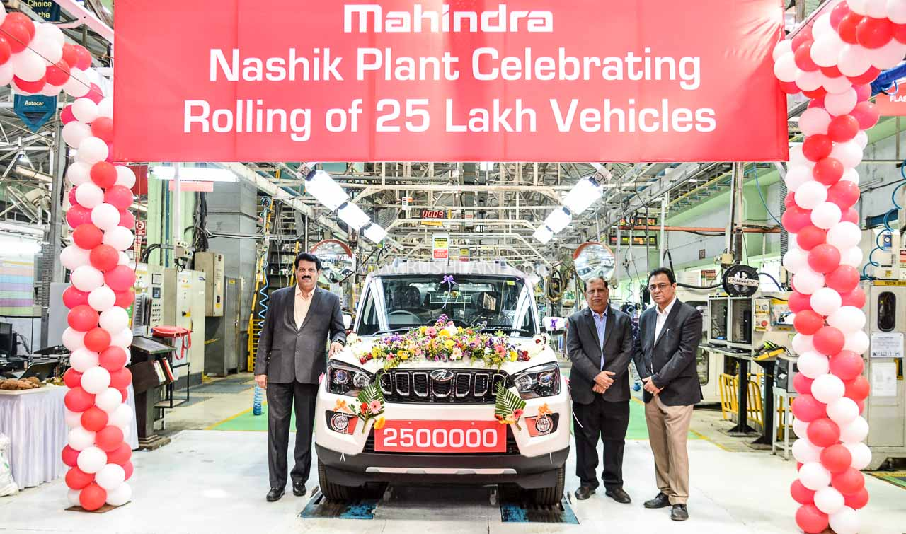 Mahindra Scorpio 25 lakh production