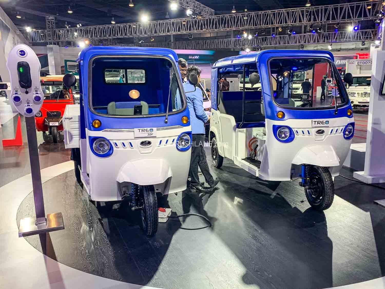 Mahindra Treo and Treo Zor at Auto Expo 2020