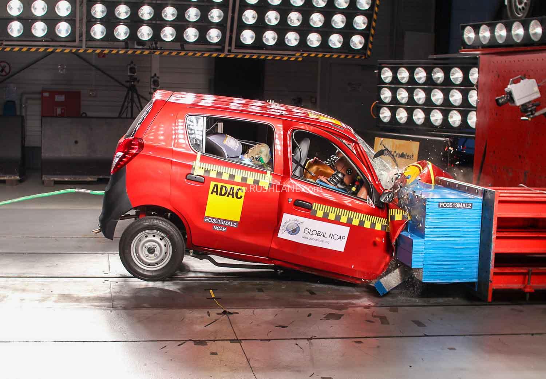 Maruti Alto crash tested by Global NCAP. File Photo.