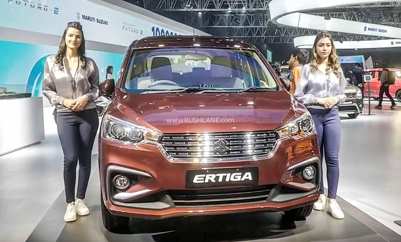 Maruti Ertiga at 2020 Auto Expo