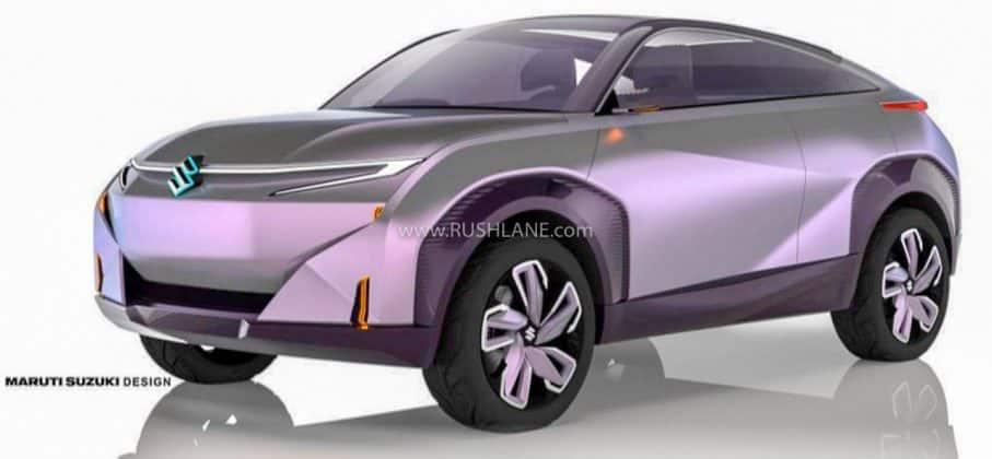 Maruti Futuro-E electric SUV concept