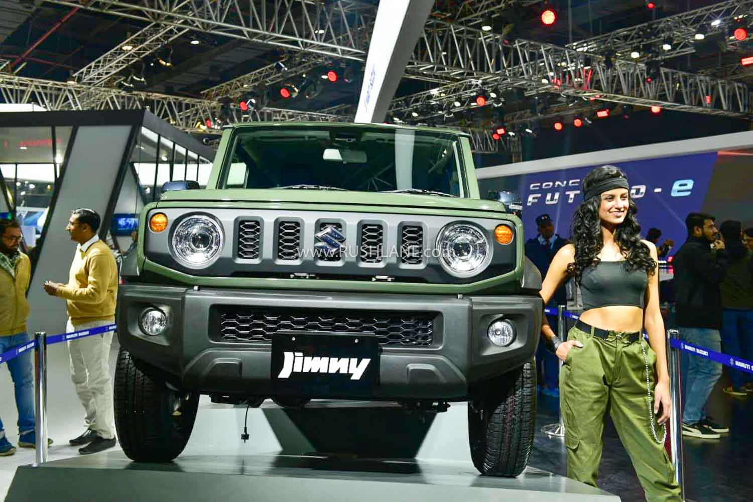 Jimny at Maruti stall - 2020 Auto Expo