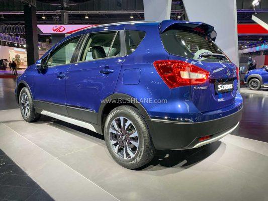 Maruti Suzuki S-Cross petrol at 2020 Auto Expo