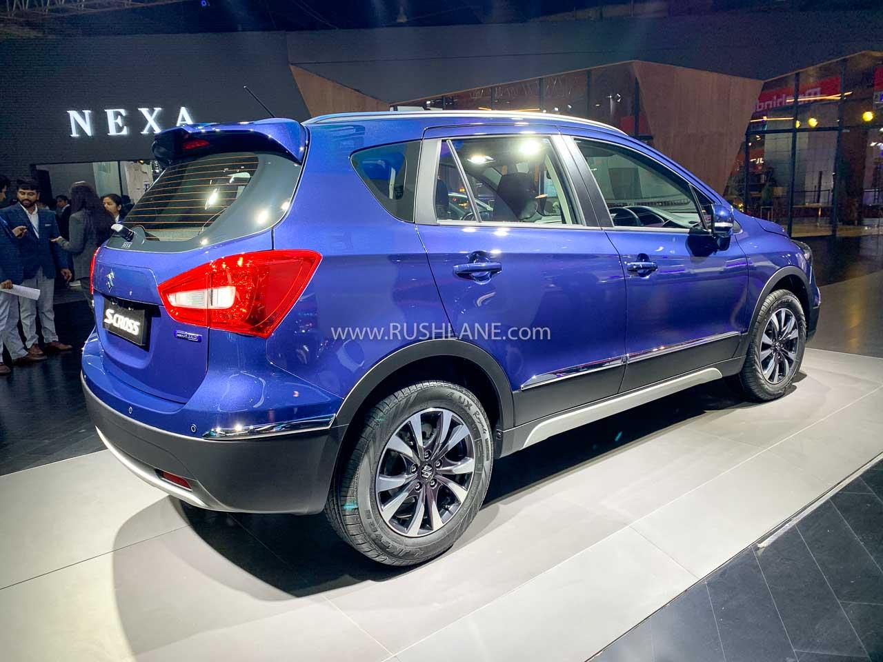 Maruti S-Cross petrol BS6 at Auto Expo 2020