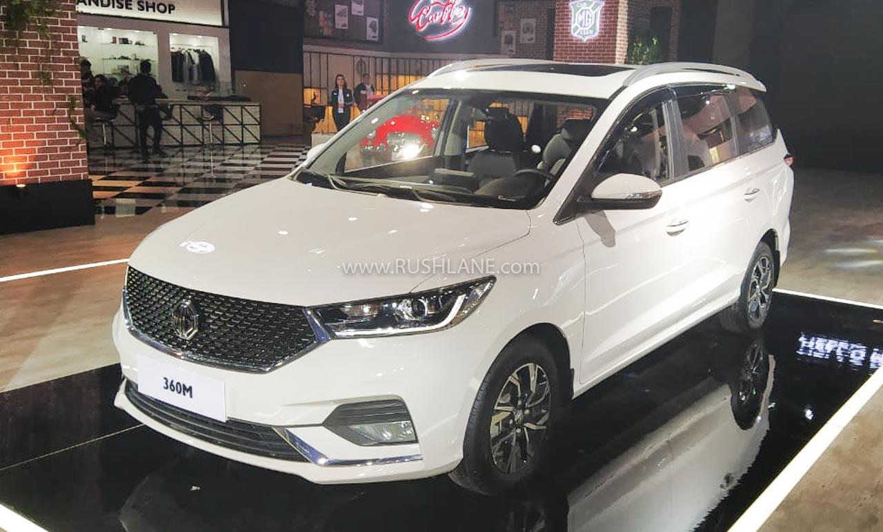 MG 360M MPV - Auto Expo 2020