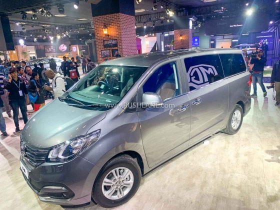 MG G10 MPV at Auto Expo